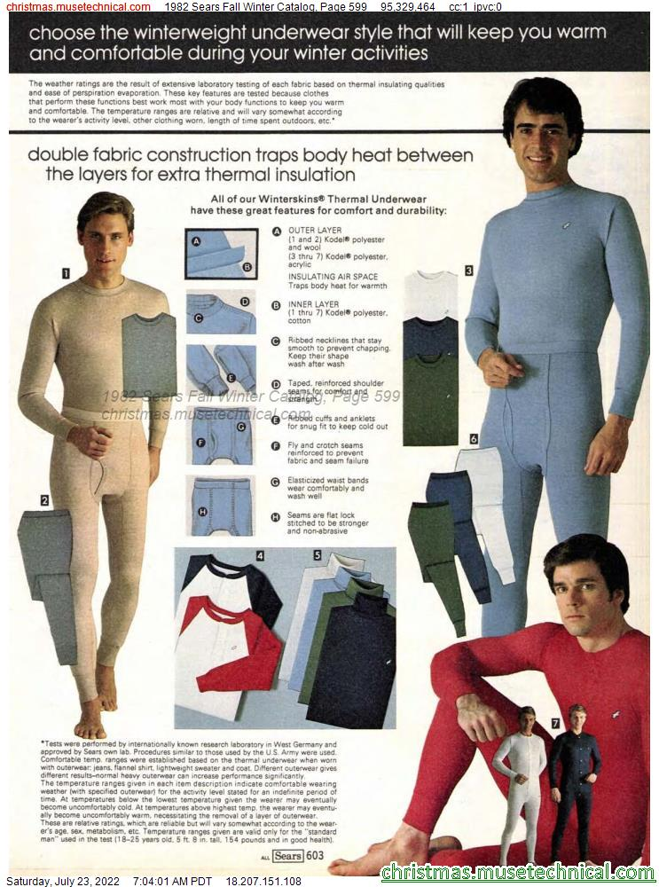 1982 Sears Fall Winter Catalog, Page 599