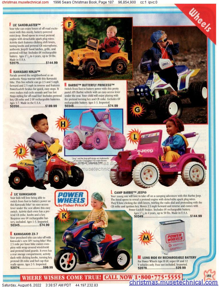 1996 Sears Christmas Book, Page 187