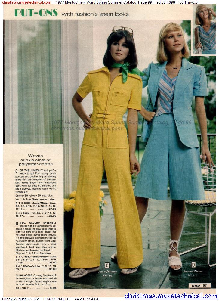 1977 Montgomery Ward Spring Summer Catalog, Page 99