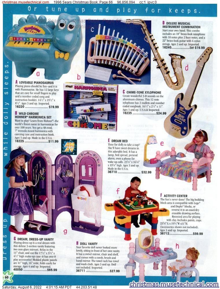 1996 Sears Christmas Book, Page 66