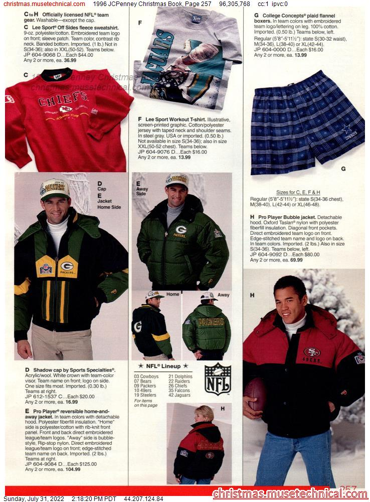 1996 JCPenney Christmas Book, Page 257