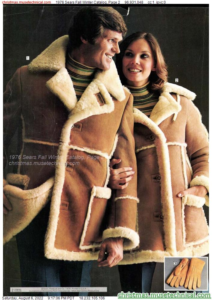 1976 Sears Fall Winter Catalog, Page 2