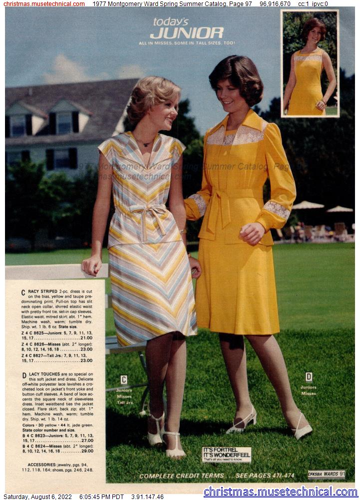 1977 Montgomery Ward Spring Summer Catalog, Page 97