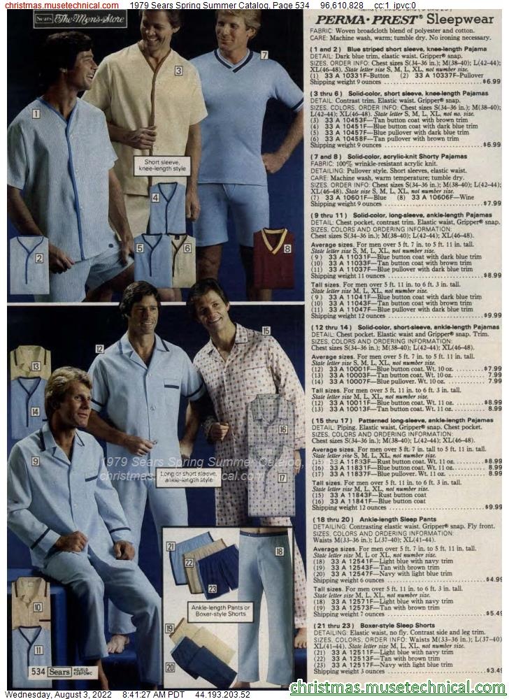1979 Sears Spring Summer Catalog, Page 534