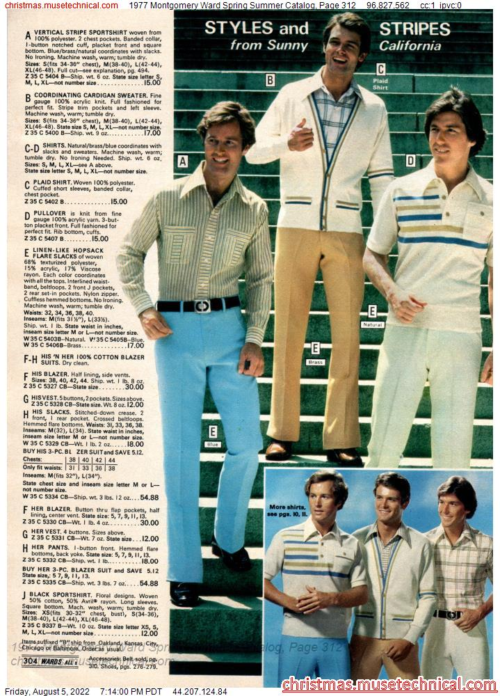 1977 Montgomery Ward Spring Summer Catalog, Page 312