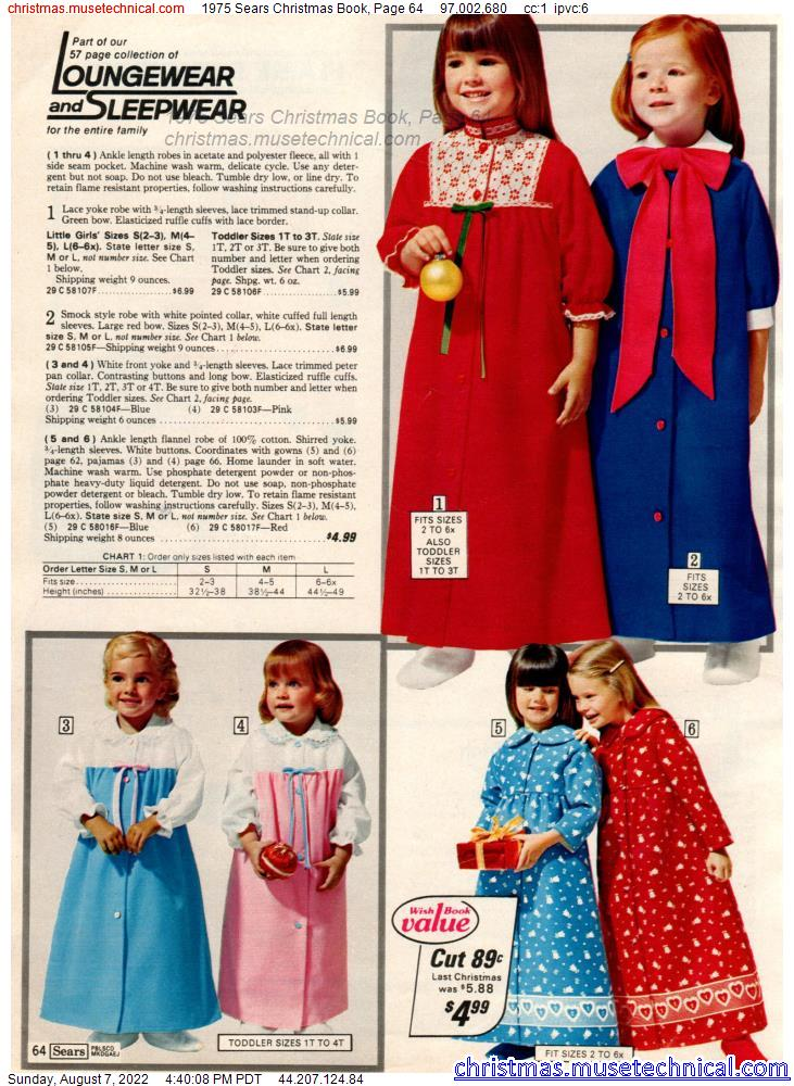 1975 Sears Christmas Book, Page 64