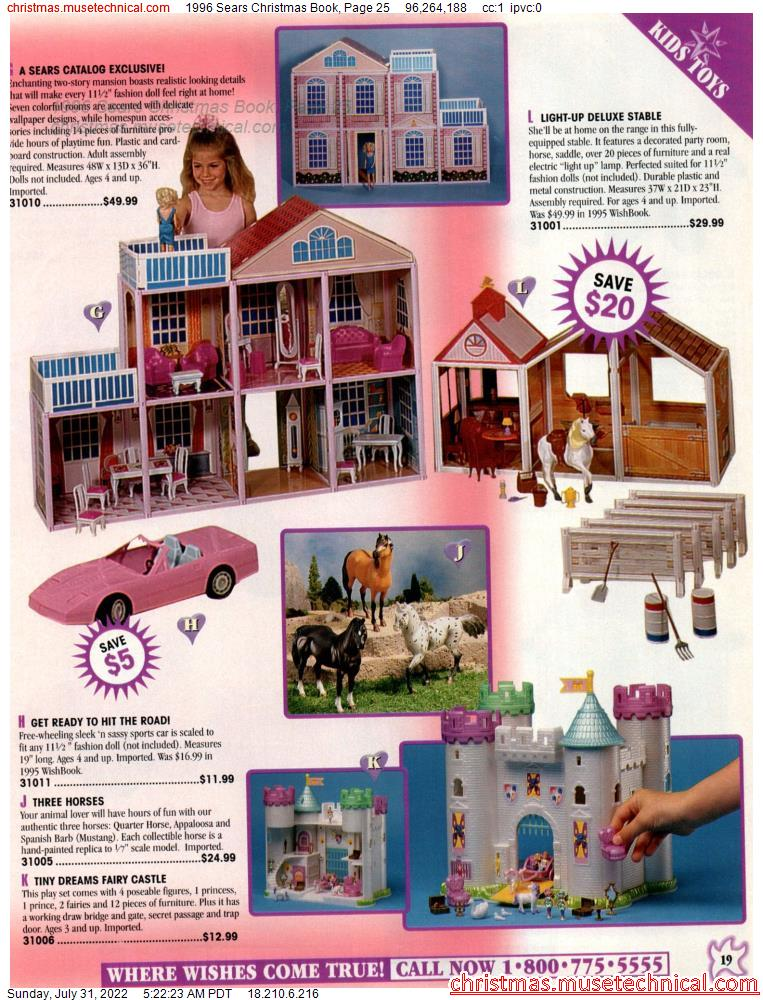 1996 Sears Christmas Book, Page 25