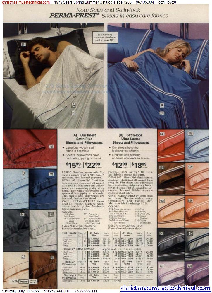 1979 Sears Spring Summer Catalog, Page 1286