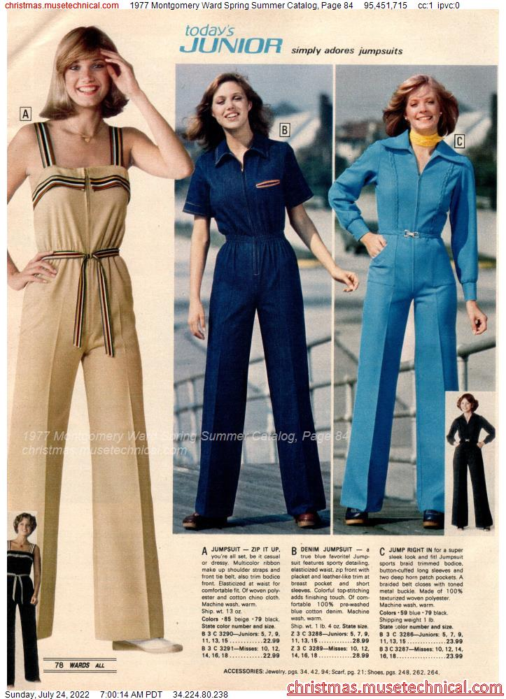 1977 Montgomery Ward Spring Summer Catalog, Page 84