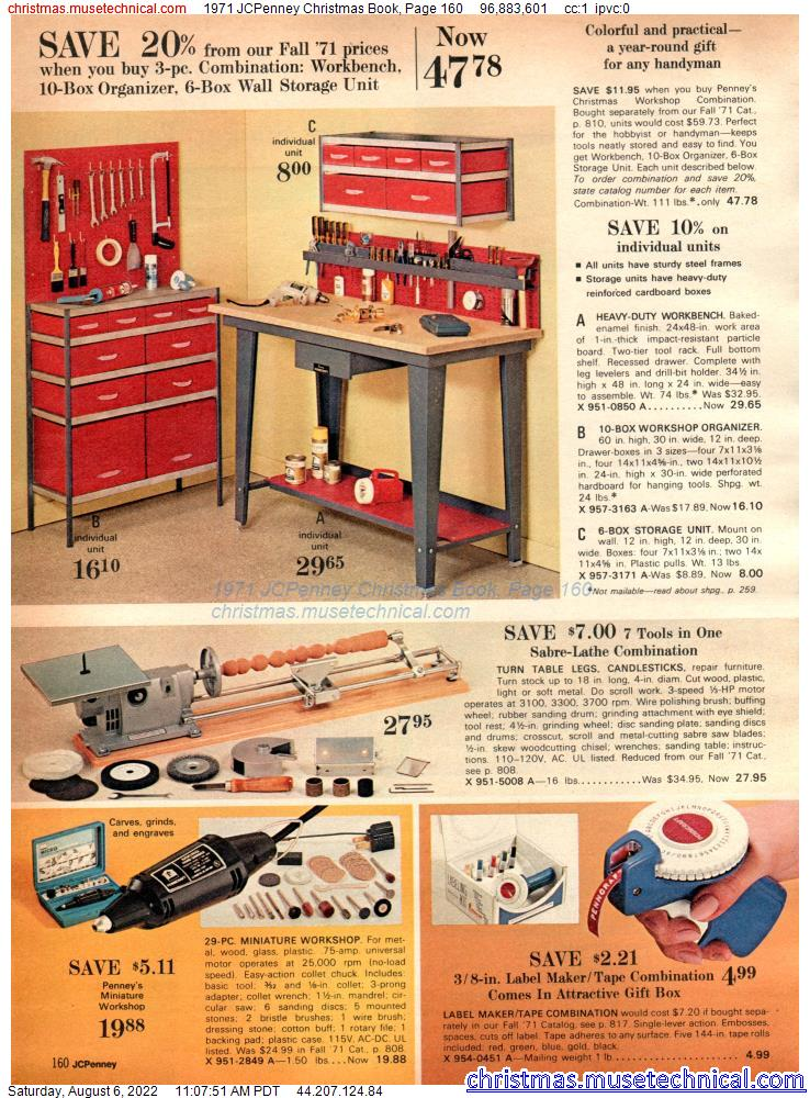 1971 JCPenney Christmas Book, Page 160