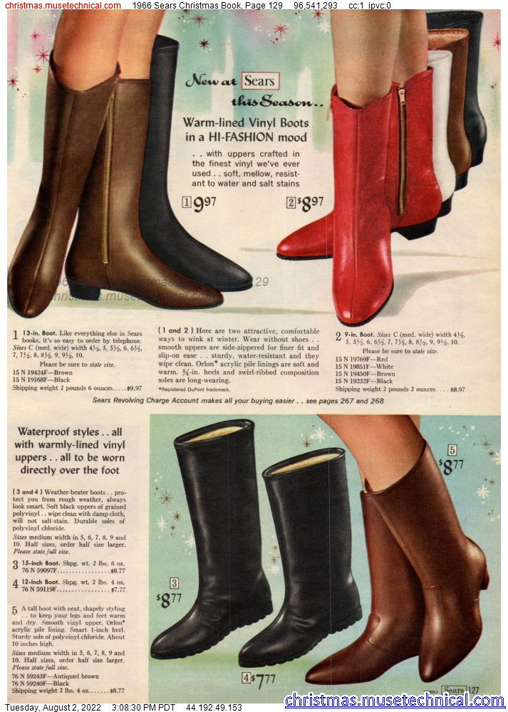 1966 Sears Christmas Book, Page 129