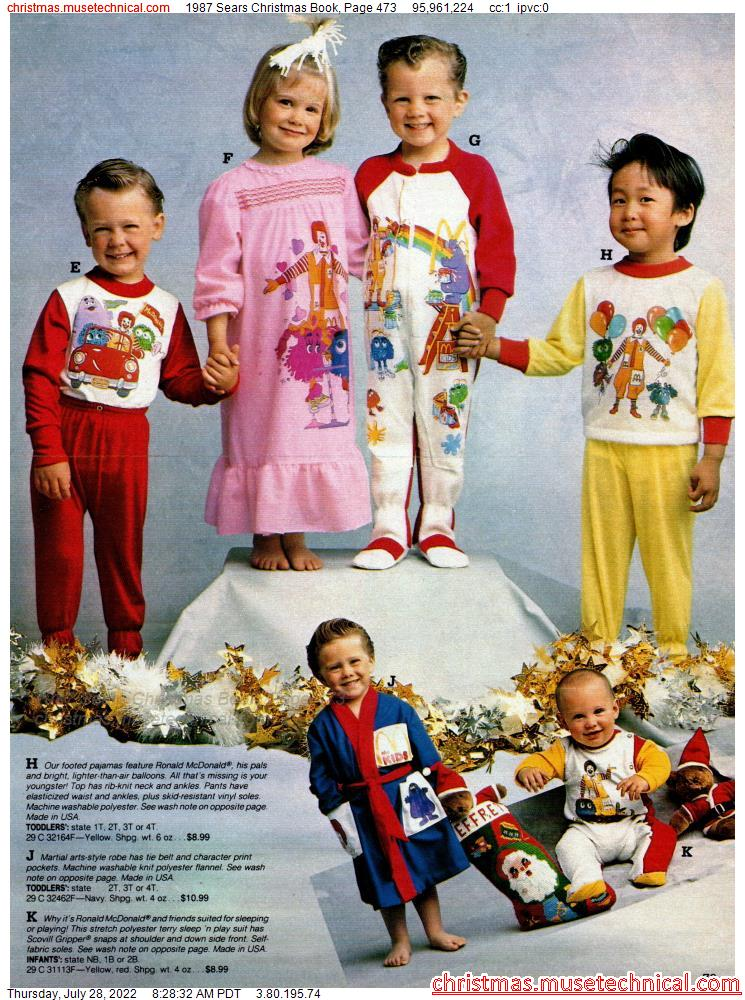 1987 Sears Christmas Book, Page 473