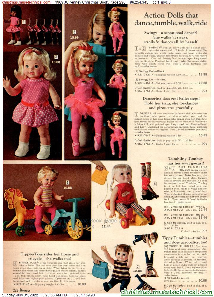 1969 JCPenney Christmas Book, Page 296