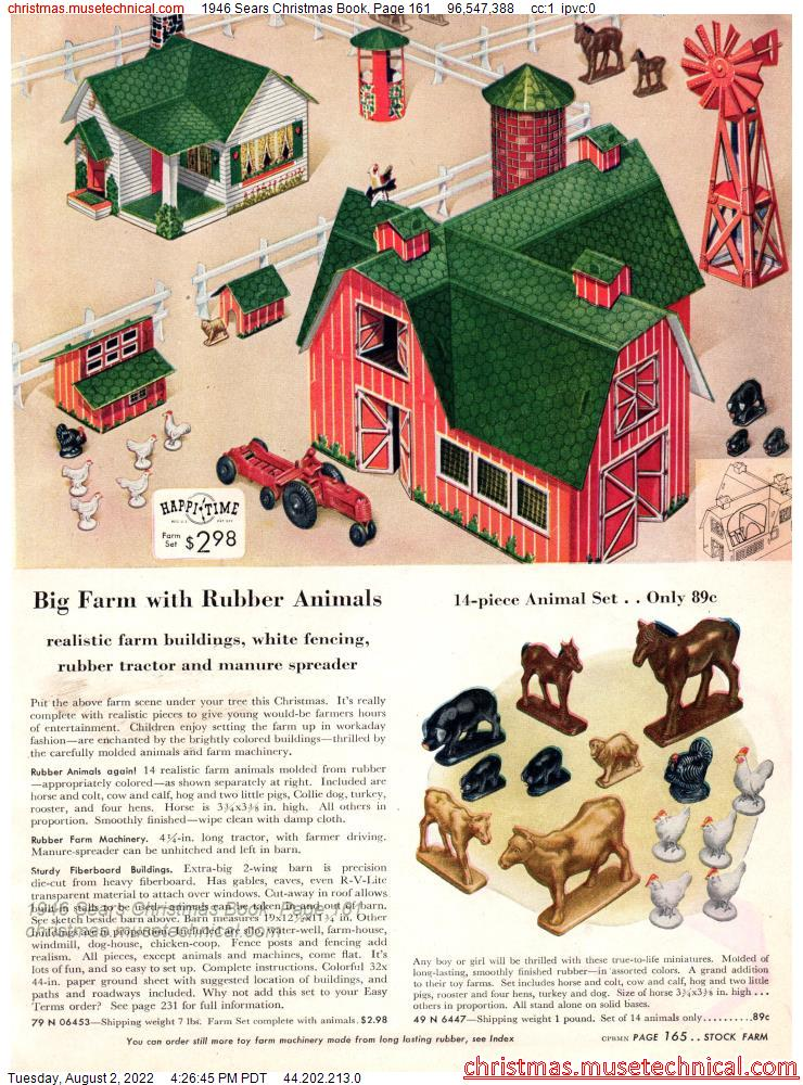 1946 Sears Christmas Book, Page 161