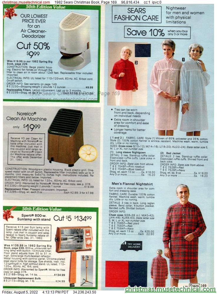 1982 Sears Christmas Book, Page 169