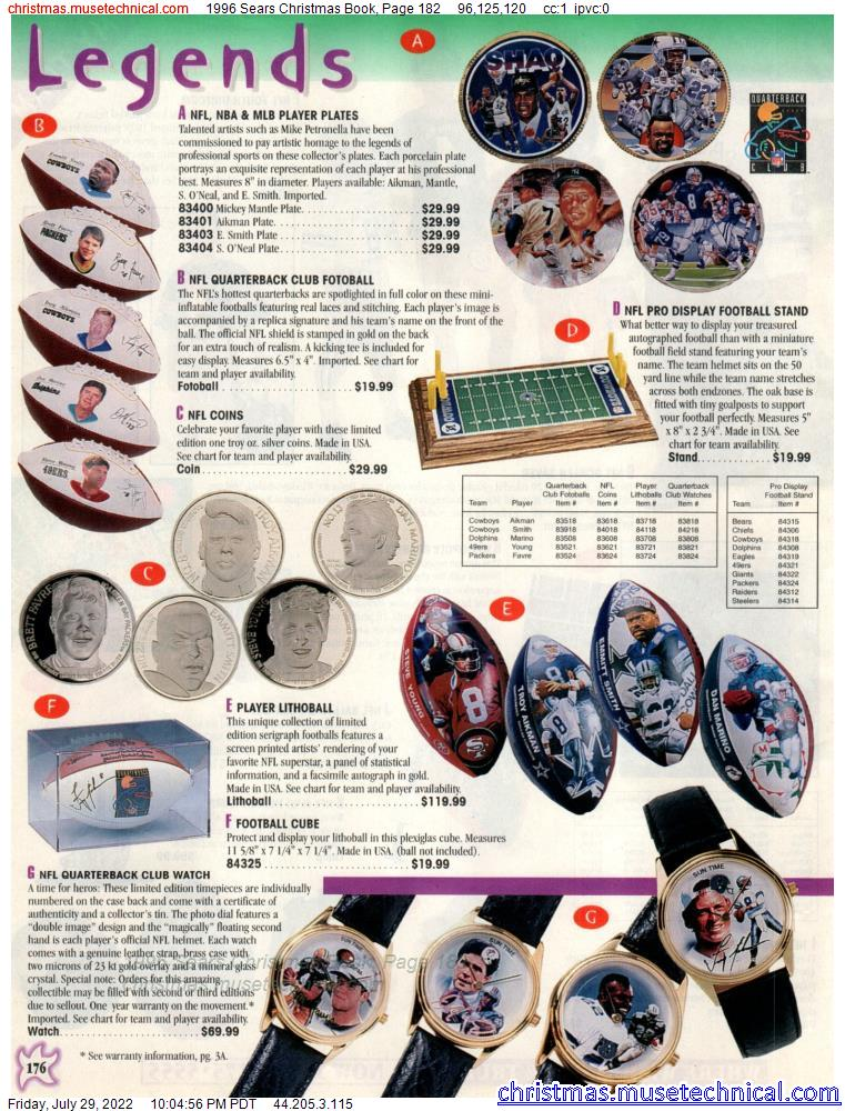 1996 Sears Christmas Book, Page 182