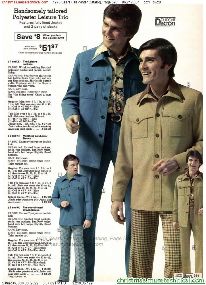 1976 Sears Fall Winter Catalog, Page 593
