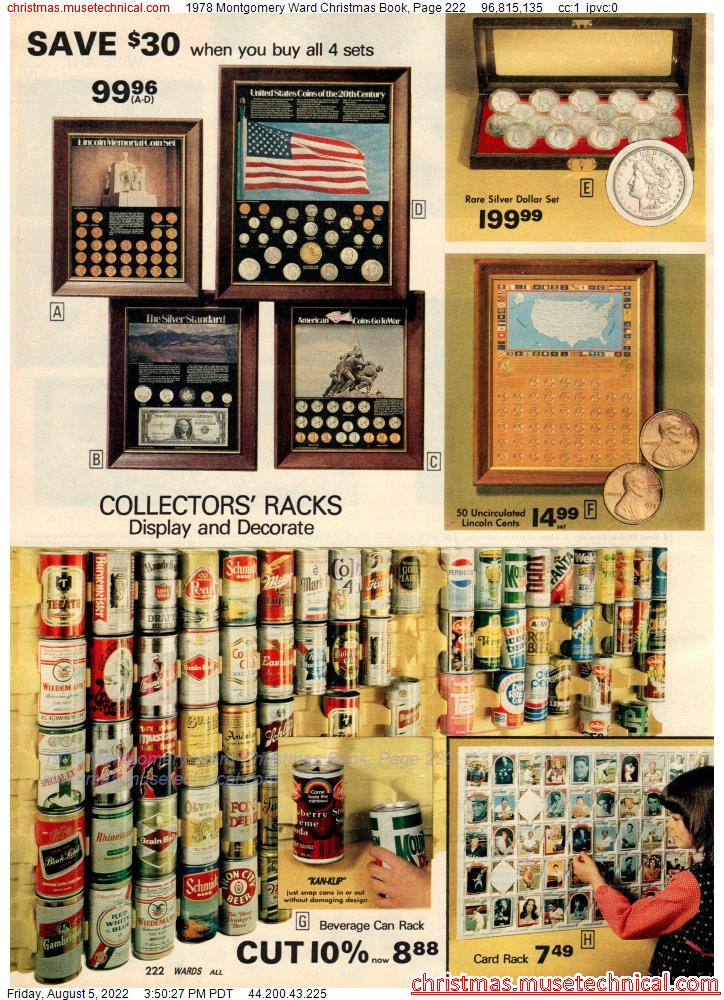 1978 Montgomery Ward Christmas Book, Page 222