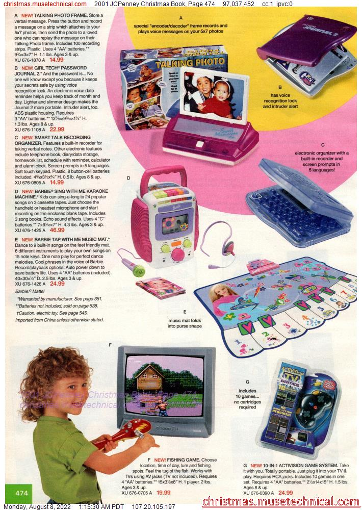 2001 JCPenney Christmas Book, Page 474