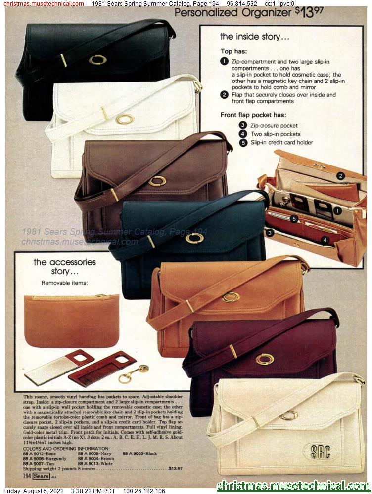1981 Sears Spring Summer Catalog, Page 194