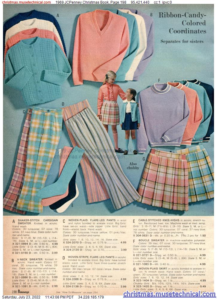 1969 JCPenney Christmas Book, Page 198