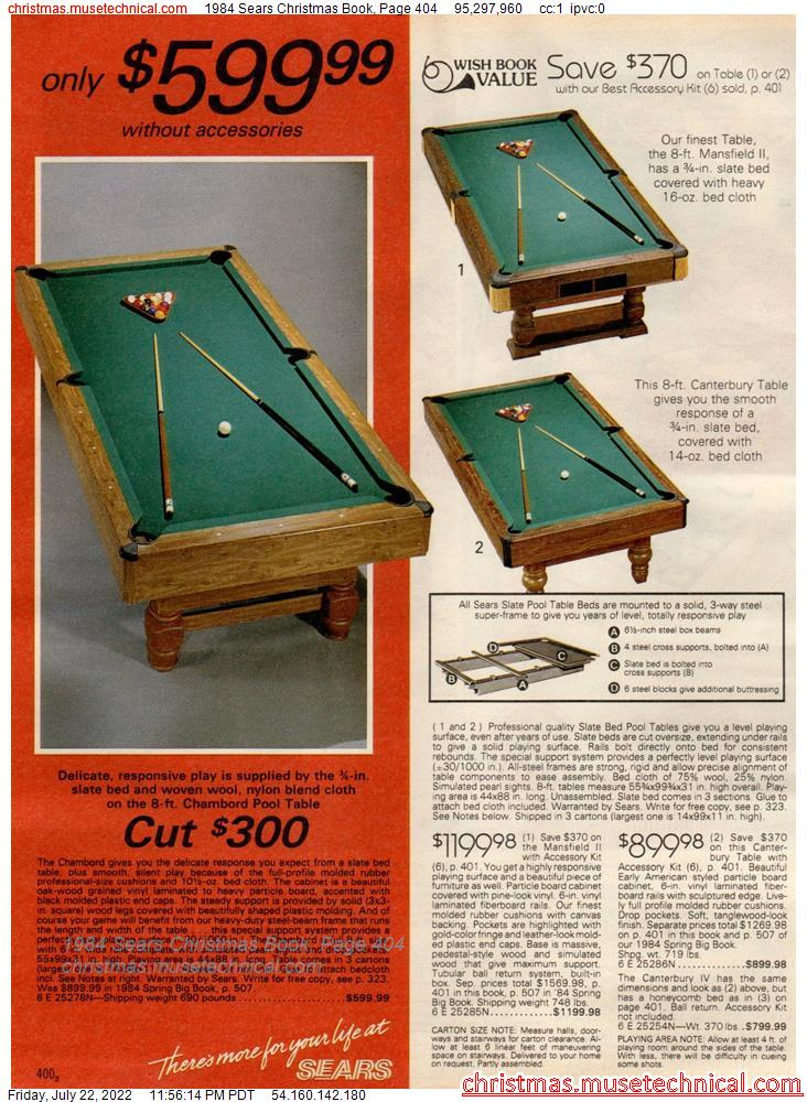 1984 Sears Christmas Book, Page 404