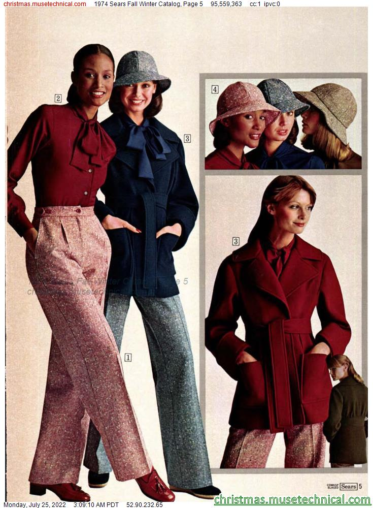 1974 Sears Fall Winter Catalog, Page 5