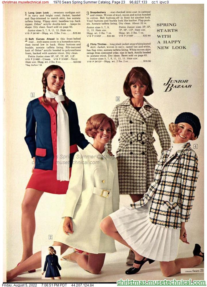 1970 Sears Spring Summer Catalog, Page 23