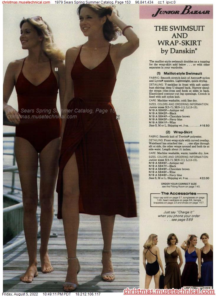 1979 Sears Spring Summer Catalog, Page 153