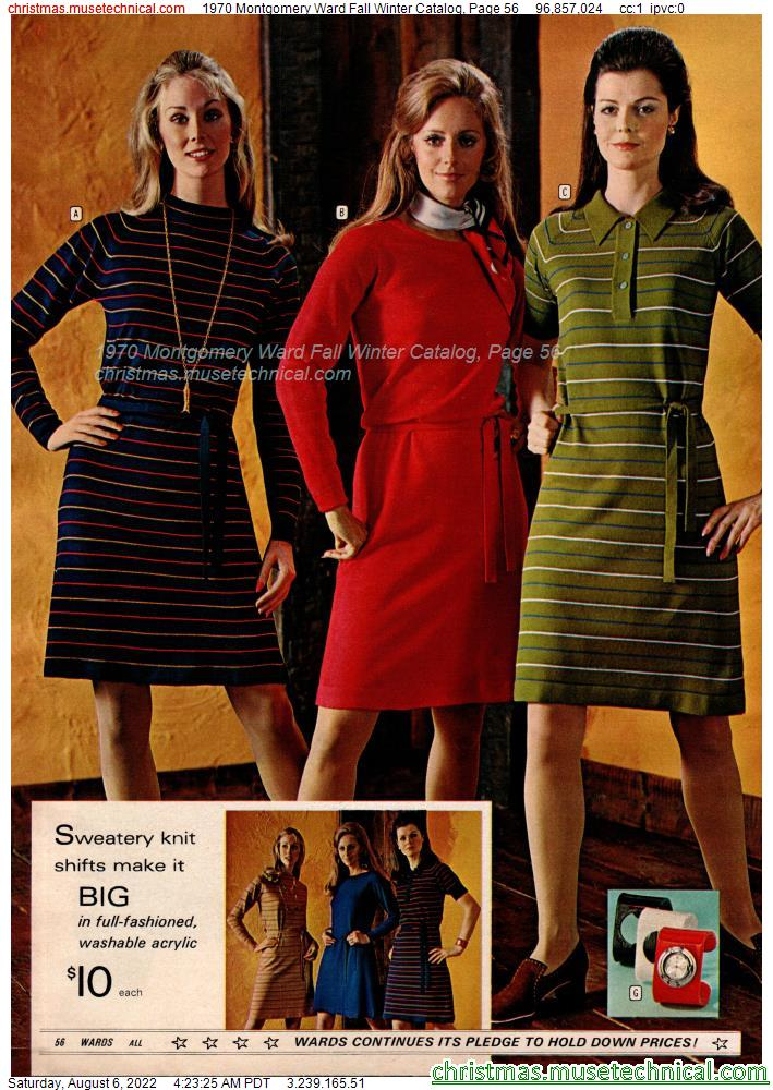 1970 Montgomery Ward Fall Winter Catalog, Page 56