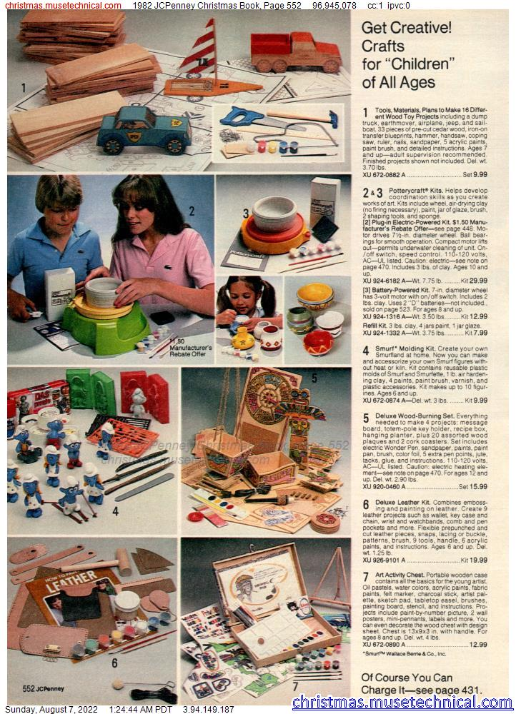 1982 JCPenney Christmas Book, Page 552