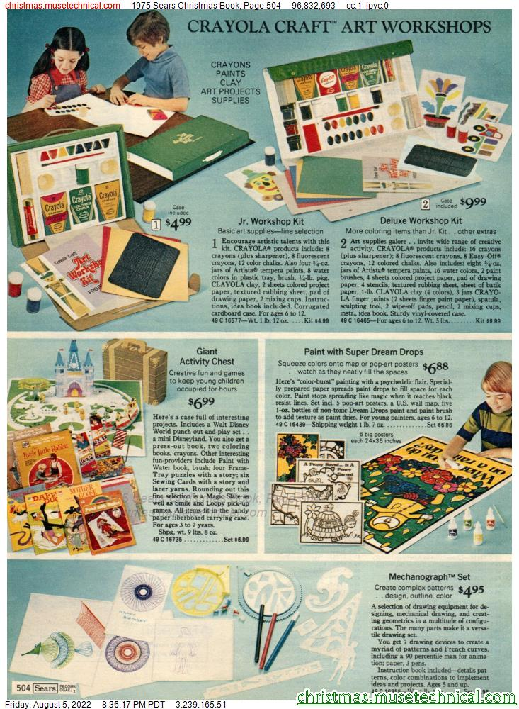 1975 Sears Christmas Book, Page 504