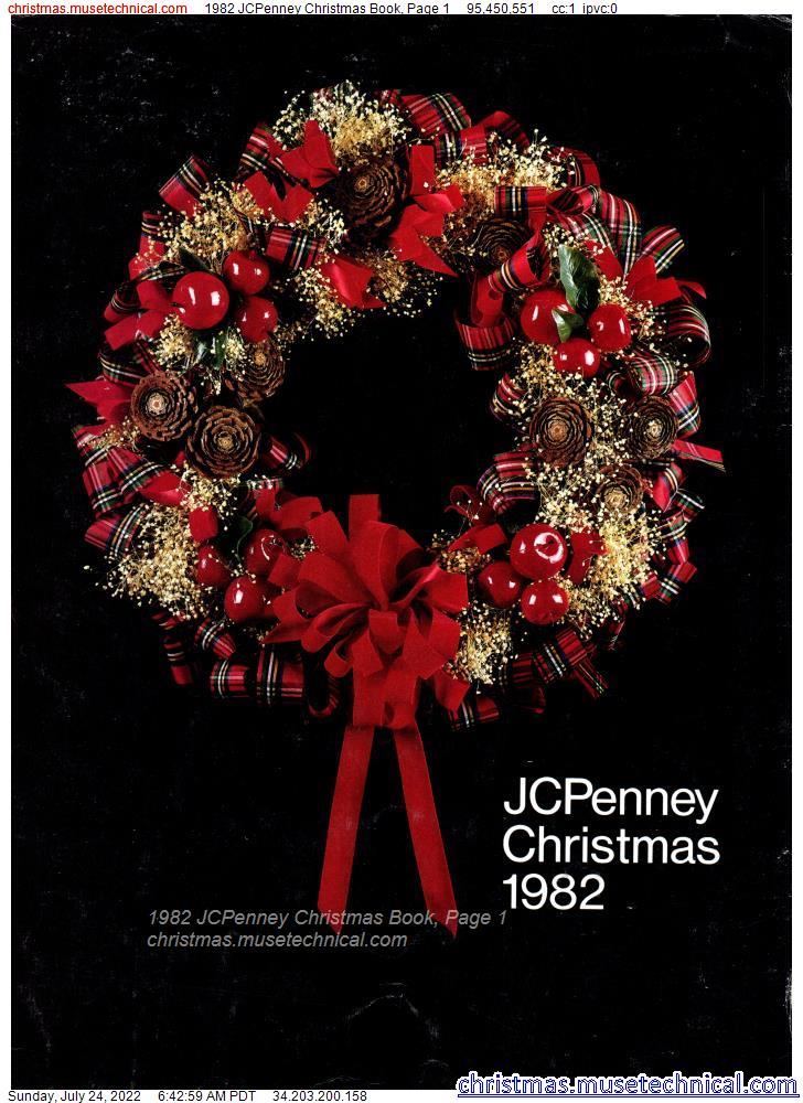 1982 JCPenney Christmas Book, Page 1
