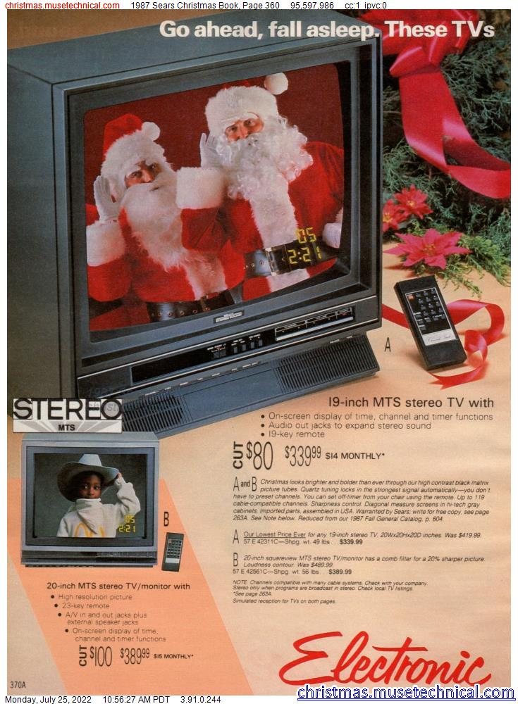 1987 Sears Christmas Book, Page 360