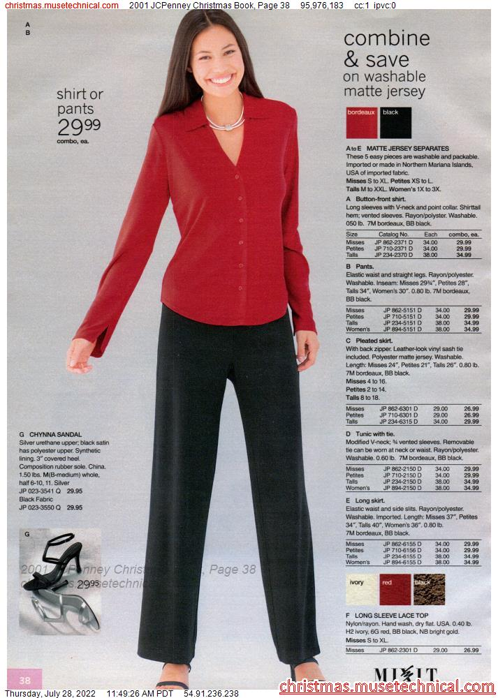 2001 JCPenney Christmas Book, Page 38