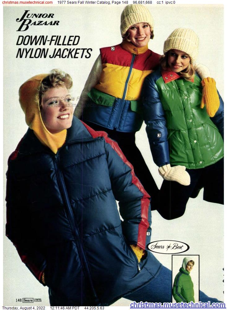1977 Sears Fall Winter Catalog, Page 148