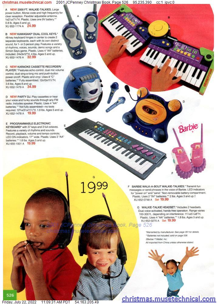 2001 JCPenney Christmas Book, Page 526