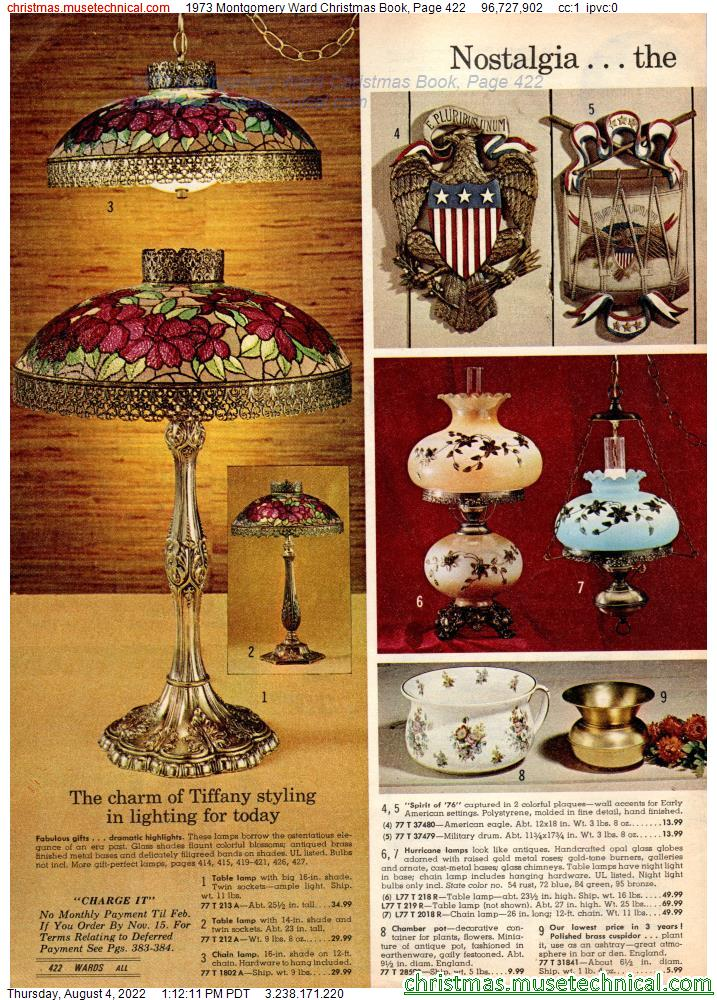 1973 Montgomery Ward Christmas Book, Page 422