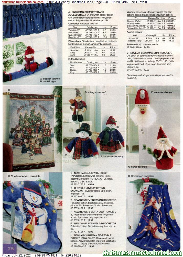 2001 JCPenney Christmas Book, Page 238