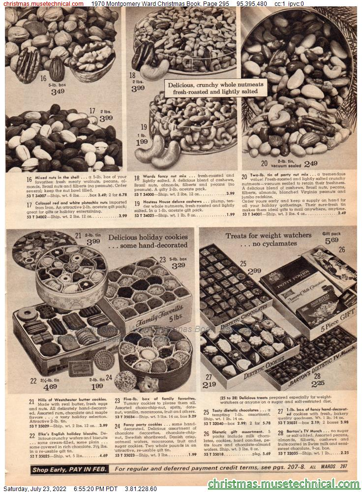 1970 Montgomery Ward Christmas Book, Page 295