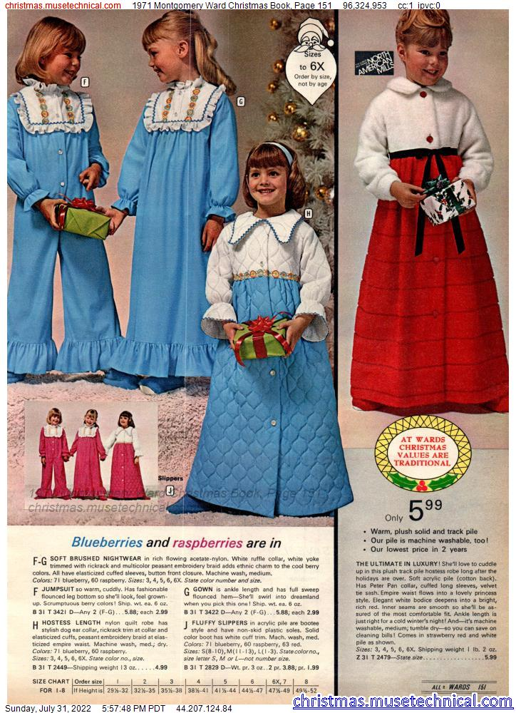1971 Montgomery Ward Christmas Book, Page 151