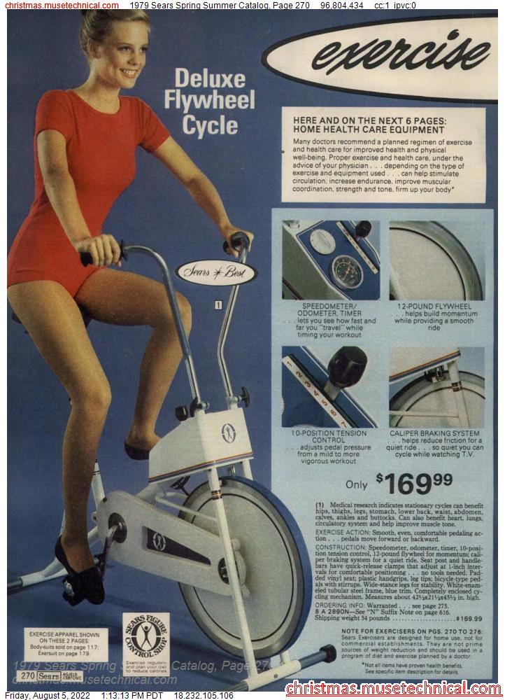 1979 Sears Spring Summer Catalog, Page 270