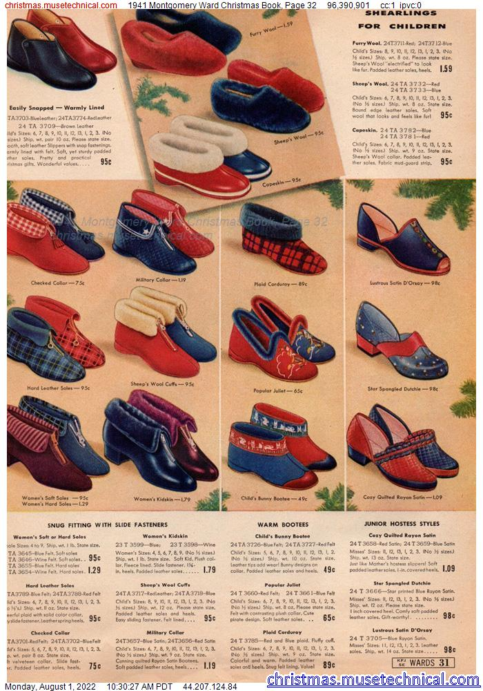 1941 Montgomery Ward Christmas Book, Page 32