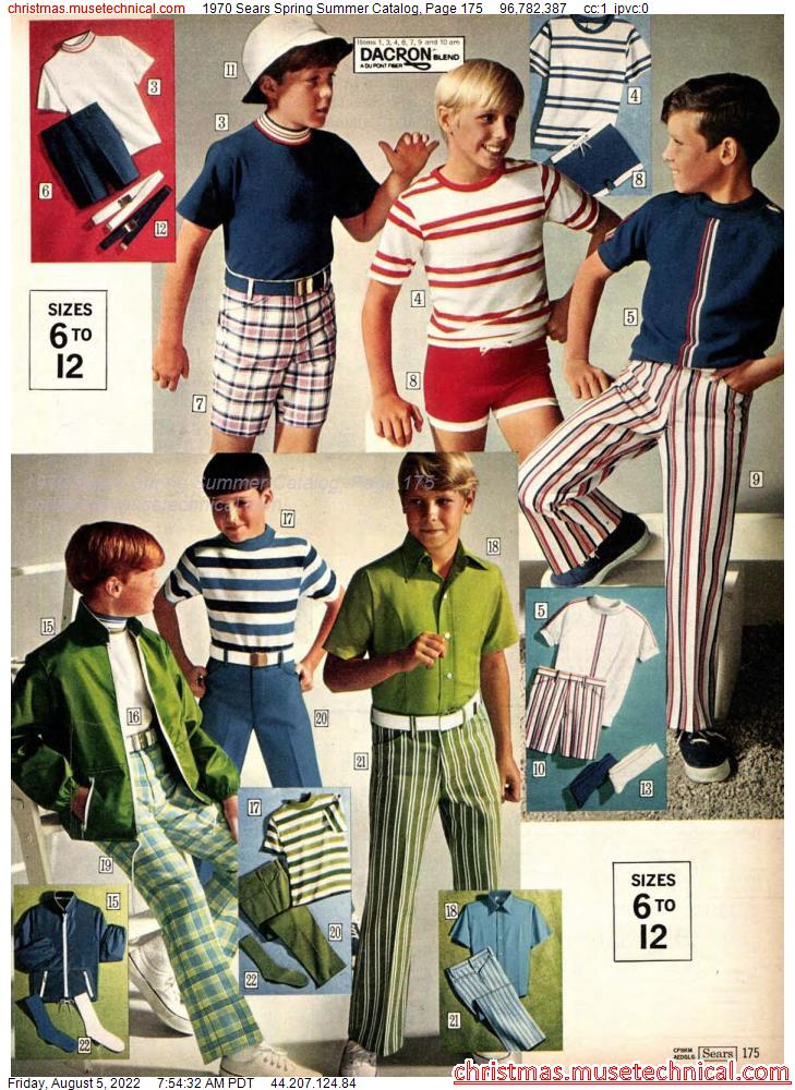 1970 Sears Spring Summer Catalog, Page 175