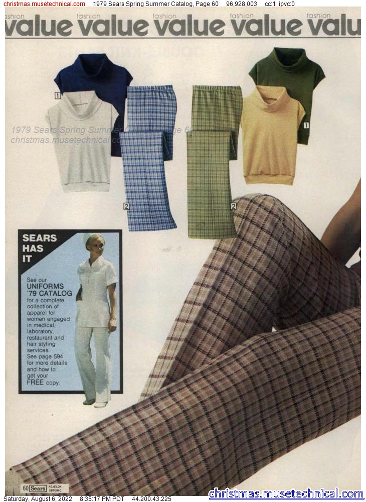 1979 Sears Spring Summer Catalog, Page 60