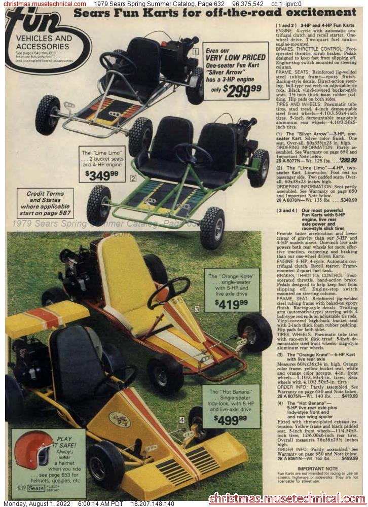 1979 Sears Spring Summer Catalog, Page 632