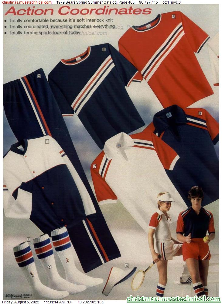 1979 Sears Spring Summer Catalog, Page 460