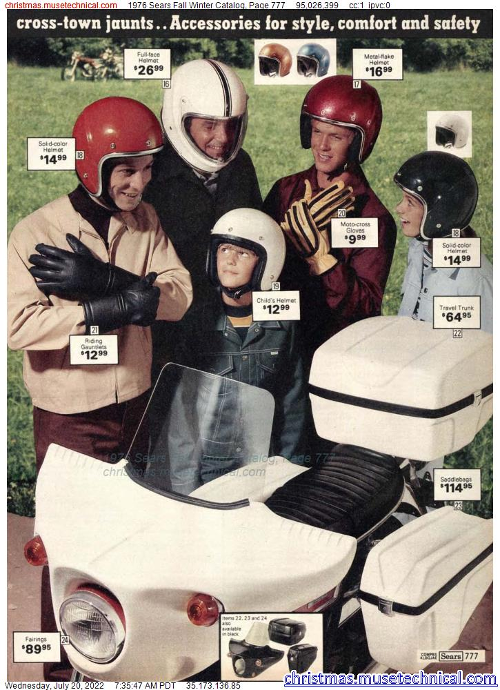 1976 Sears Fall Winter Catalog, Page 777