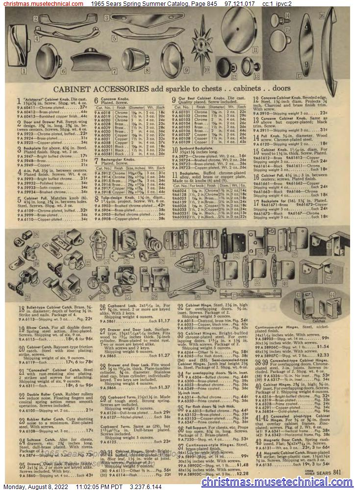 1963 JCPenney Fall Winter Catalog, Page 845 - Christmas