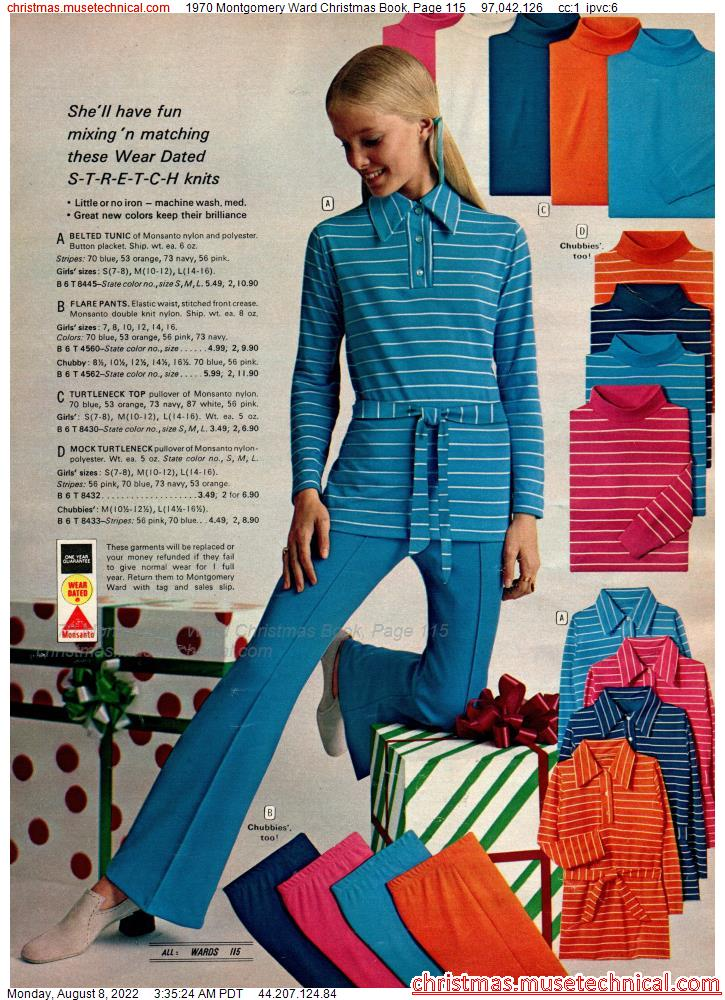 1970 Montgomery Ward Christmas Book, Page 115